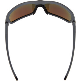 Alpina Lyron S Glasses cool grey matt-black/blue mirror